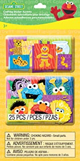 EK Success Brands Sesame Street Crafting Sticker Accents, Character Faces