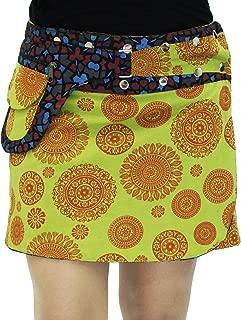Women's Designs Hosiery Printed Reversible Wrap Skirt