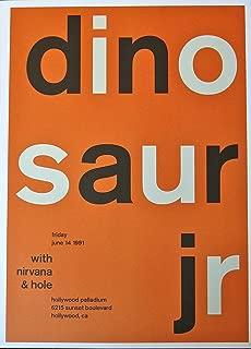 dinosaur jr concert poster