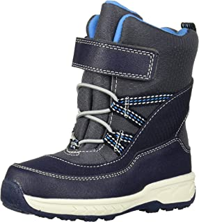 Carter's Boys Weather Boot, Navy, 4 M US Toddler