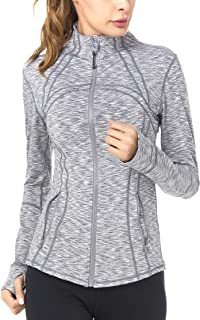 QUEENIEKE Women's Sports Define Jacket Slim Fit and Cottony-Soft Handfeel 60927