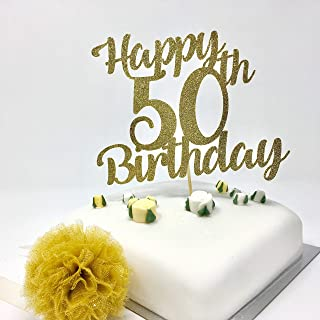 100TH HAPPY BIRTHDAY ANNIVERSARY PINK FLOWER 7.5 INCH PRECUT EDIBLE CAKE TOPPER