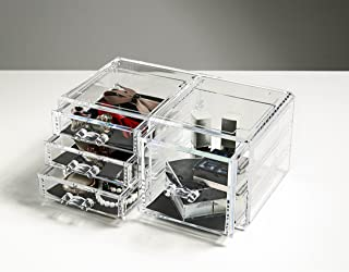 Felicite Home Acrylic Jewelry and Cosmetic Storage Makeup Organizer Drawer,One Piece