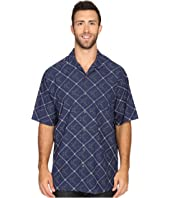 Tommy Bahama Big & Tall - Big & Tall Rhumba Dobby Short Sleeve