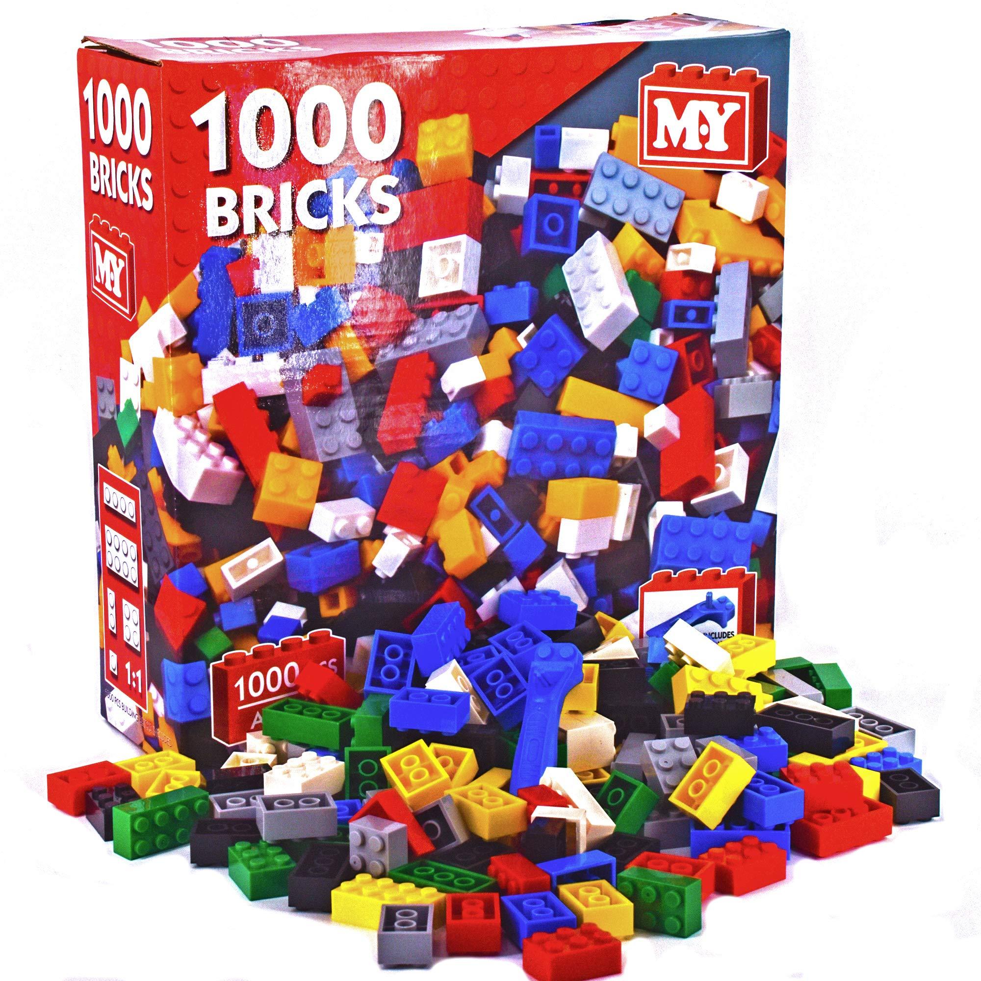 1000 Ladrillos de construcción: Amazon.es: Juguetes y juegos