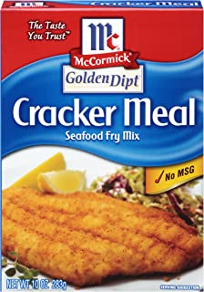 McCormick Golden Dipt Cracker Meal Seafood Fry Mix, 10 oz (Pack of 8)