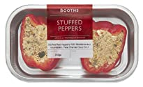 Booths Stuffed Peppers with Mediterranean Vegetables and Feta Cheese Cous, 250 g