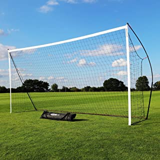 QUICKPLAY Kickster Soccer Goal Range – Ultra Portable...
