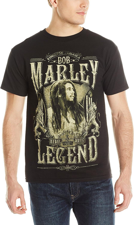 BOB MARLEY Crew Neck Sweatshirt Distressed Rasta Reggae Legend ZION Men/'s New