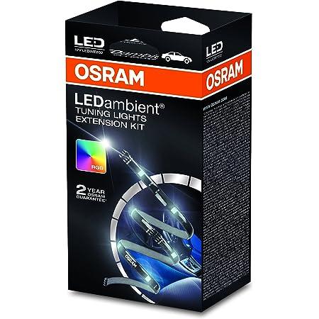 Osram Ledambient Tuning Lights Extension Kit Erweiterungskit Für Ledint201 Fahrzeug Innenraumbeleuchtung Ledint202 16 Farben 5 Modi Steuerung über Fernbedienung 12v Faltschachtel 1 Stück Auto