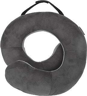 Travelon Deluxe Wrap-n-Rest Pillow, Dark Light Gray