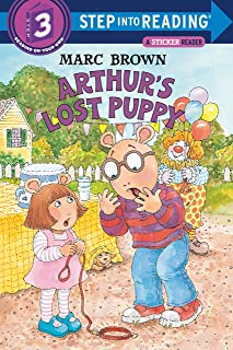 Arthurs Lost Puppy (Sticker Books)