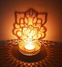 Lord Ganesha (Ridhi Shidhi) Diwali Shadow Diya. Deepawali Traditional Decorative Diya in Lord Ganesha Shape for Home/Offic...