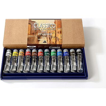 Industria Maimeri 0398055 Colori a Olio 12 Tubi