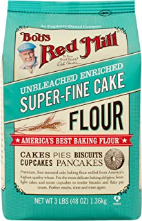 Bob's Red Mill Super-Fine Cake Flour - 48 Ounce (Pack of 4)