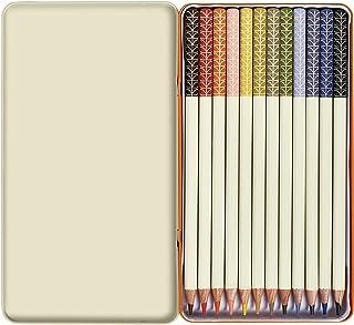 Orla Kiely   Zestaw kolorowych ołówków   Dwanaście ołówków   Puszka na pamiątkę