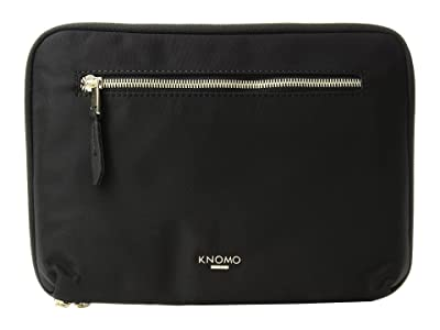 KNOMO London Mayfair Knomad II 10 Organizer (Black) Computer Bags