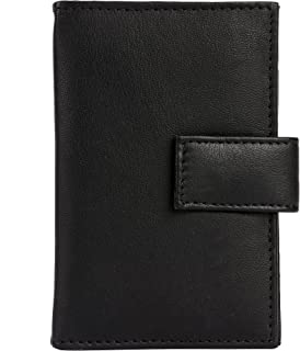 Genuine Leather Credit Card Holder | Men's Wallet with Gift Box | 18 Card Slots