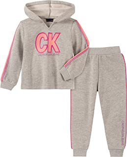 Calvin Klein Baby Girls 2 Pieces Jogger Set