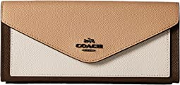 COACH - Soft Wallet in Color Block Leather