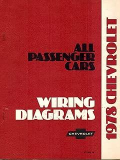 1978 Chevrolet Corvette, Camaro, Malibu, Monte Carlo, El Camino, Monza, Nova, & Chevette Wiring Diagrams, Part No. ST-359-78