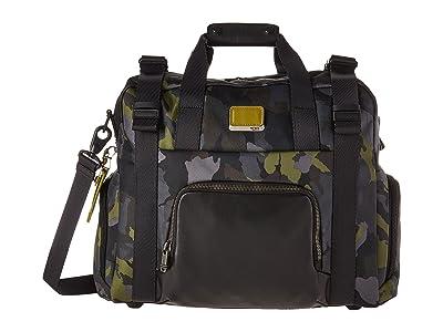 Tumi Alpha Bravo Buckley Duffel (Green Camo) Duffel Bags