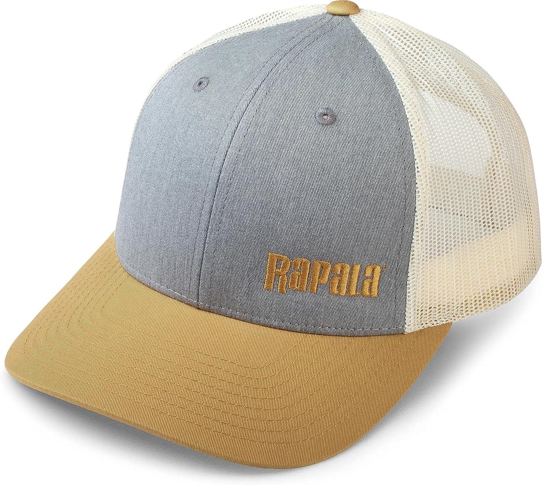 Rapala® Classic Cap-Blue Coastal Center Logo-New-Style-Pre curved-Hat-Fishing