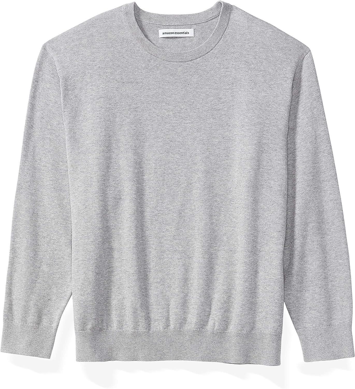 Amazon Essentials Men's Big & Tall Crewneck Sweater fit by DXL