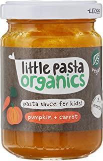 Little Pasta Organic Pumpkin and Carrot Sauce, 130g