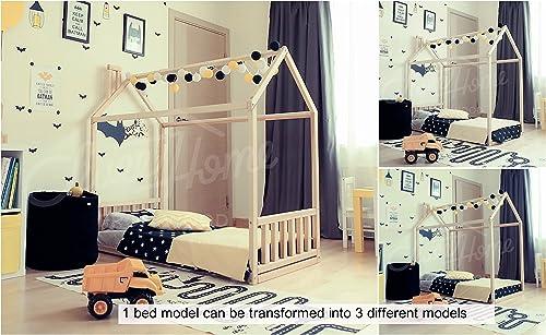 se descuenta Sweet Home of Wood Montessori - Cama Infantil con con con Lamas  sorteos de estadio
