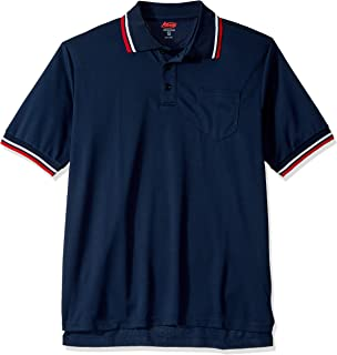 Adams USA Short Sleeve Baseball Umpire Shirt - Sized for Chest Protector