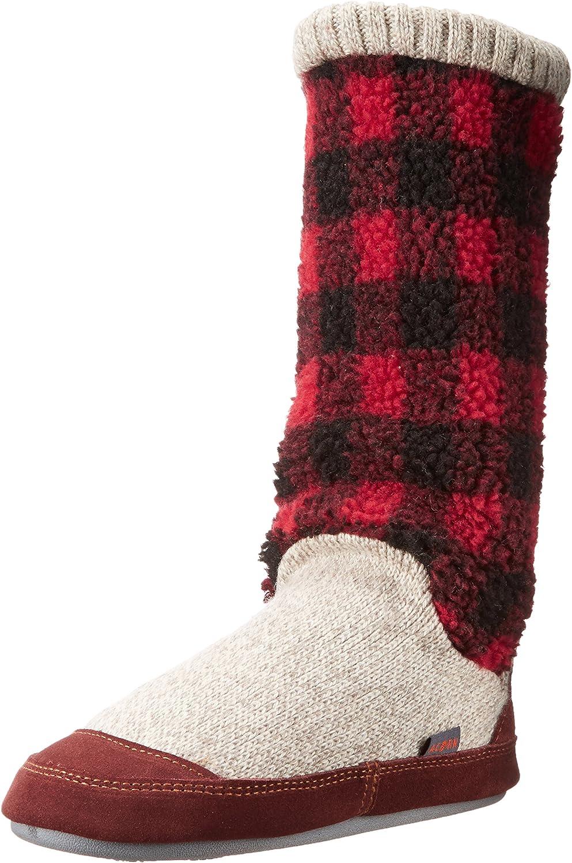 Acorn Womens Women's Slouch Boots Slipper