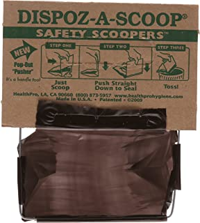 disposable poop bags human