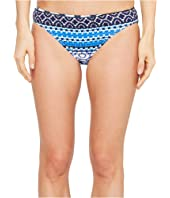 Tommy Bahama - Shibori Splash Reversible Hipster Bikini Bottom