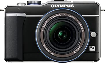 Olympus PEN E-PL1 12.3MP Live MOS Micro Four Thirds Mirrorless Digital Camera with 14-42mm f/3.5-5.6 Zuiko Digital Zoom Le...
