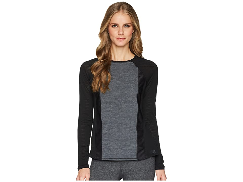 The North Face Determination Long Sleeve Top (TNF Black) Women's Long Sleeve Pullover