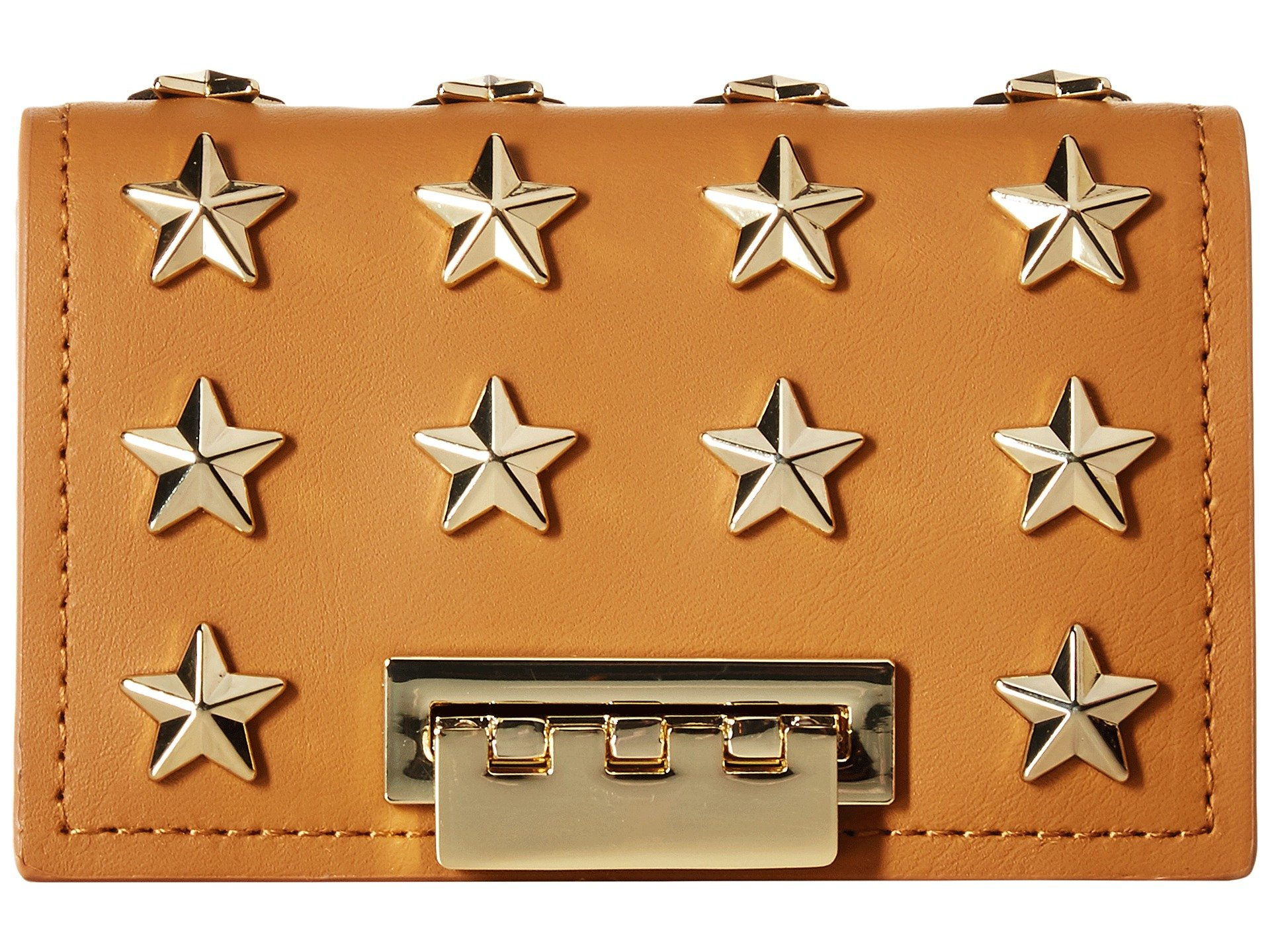 Monedero para Mujer ZAC Zac Posen Earthette Card Case with Chain - Star Stud  + ZAC Zac Posen en VeoyCompro.net