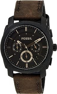 Fossil Machine Analog Brown Dial Men's Watch - FS4656