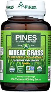 pines international wheat grass tablets