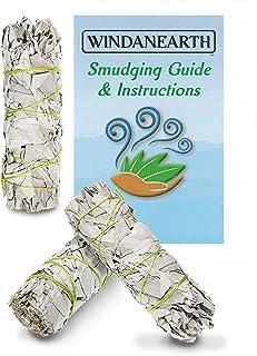 Windanearth White Sage Smudge Sticks - 3 Pack 4