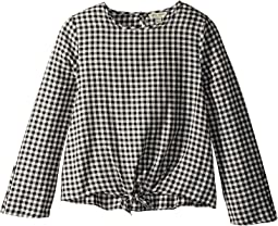Lucky Brand Kids - Paige Buffalo Check Top (Big Kids)