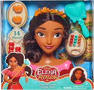 Just Play 87321 Avalor Elena Styling Head Doll