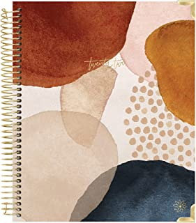 bloom daily planners 2022 Hardcover Calendar Year Goal & Vision Planner (January 2022 - December 2022) - Monthly/Weekly Co... photo