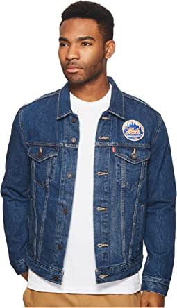 NY Mets Denim Trucker