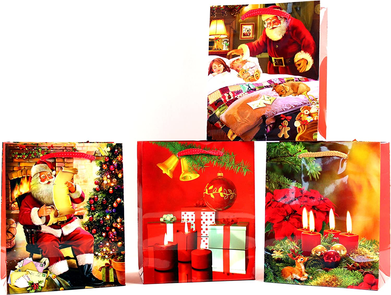 Geschenktüten Mini Mini Mini -K&B Grünrieb- Weihnachten Geschenktasche Geschenkbeutel Weihnachtsbeutel 820 (96 Stück) B00MXYLSPW   Leicht zu reinigende Oberfläche  766404