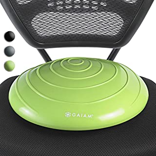 Gaiam Balance Disc Wobble Cushion Stability Core Trainer for Home or Office Desk Chair & Kids Alternative Classroom Sensor...