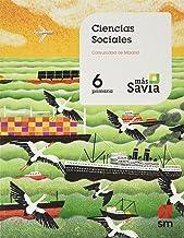 Ciencias sociales. 6 Primaria. Mas Savia. Madrid