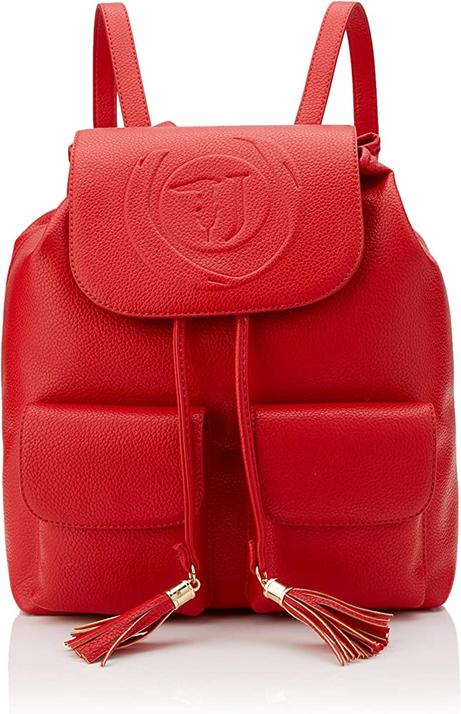 Trussardi jeans faith backpack, zaino per donna, in ecopelle 75B00848-9Y099999