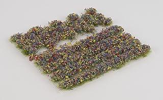 WWS blomblandning självhäftande ränder och schel set av 2 mm, 4 mm eller 6 mm statiska gräsfibrer (6 mm)