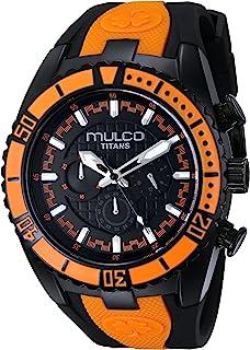 Mulco Women's MW5-1836-615 Year-Round Analog Quartz Black Watch